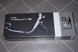 J'ai acheté la trottinette adulte Oxelo Town 9 de Decathlon - Packaging