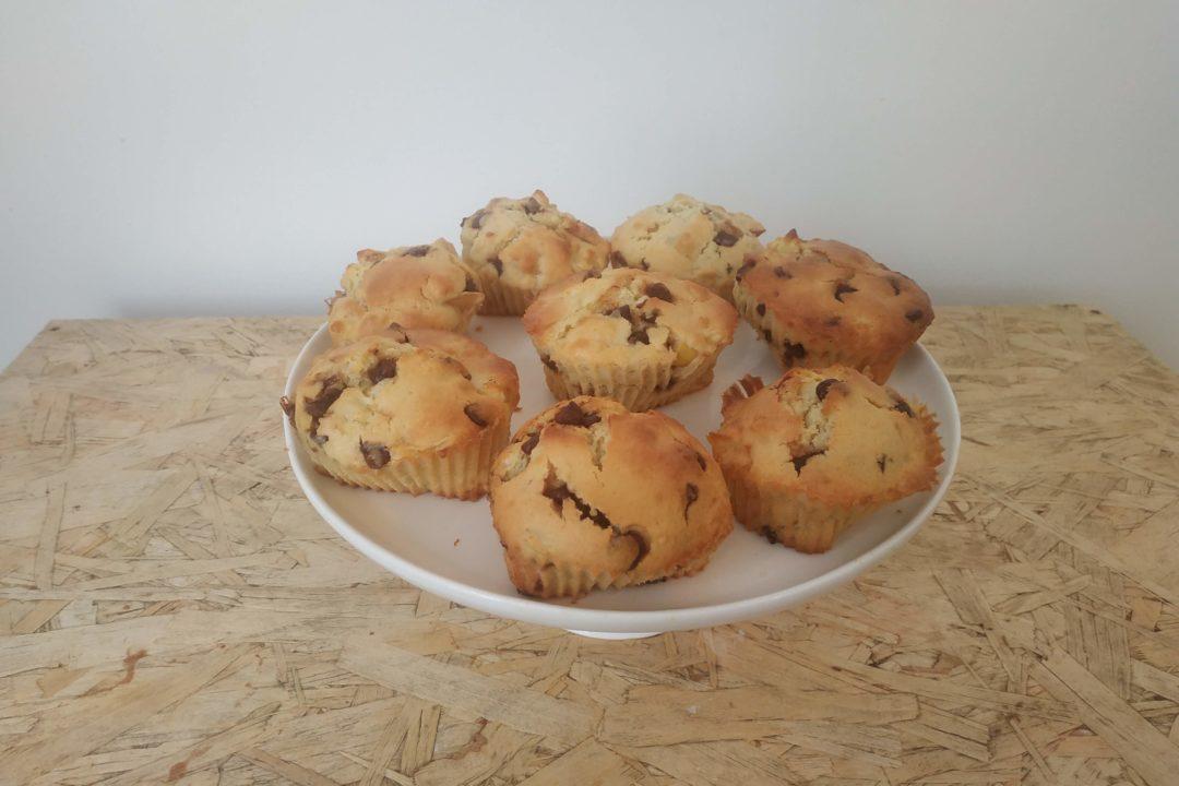 Recette muffins pommes chocolat