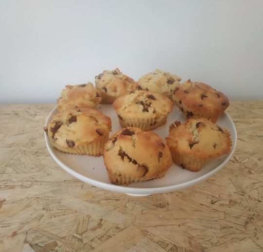 Recette muffins pommes chocolat