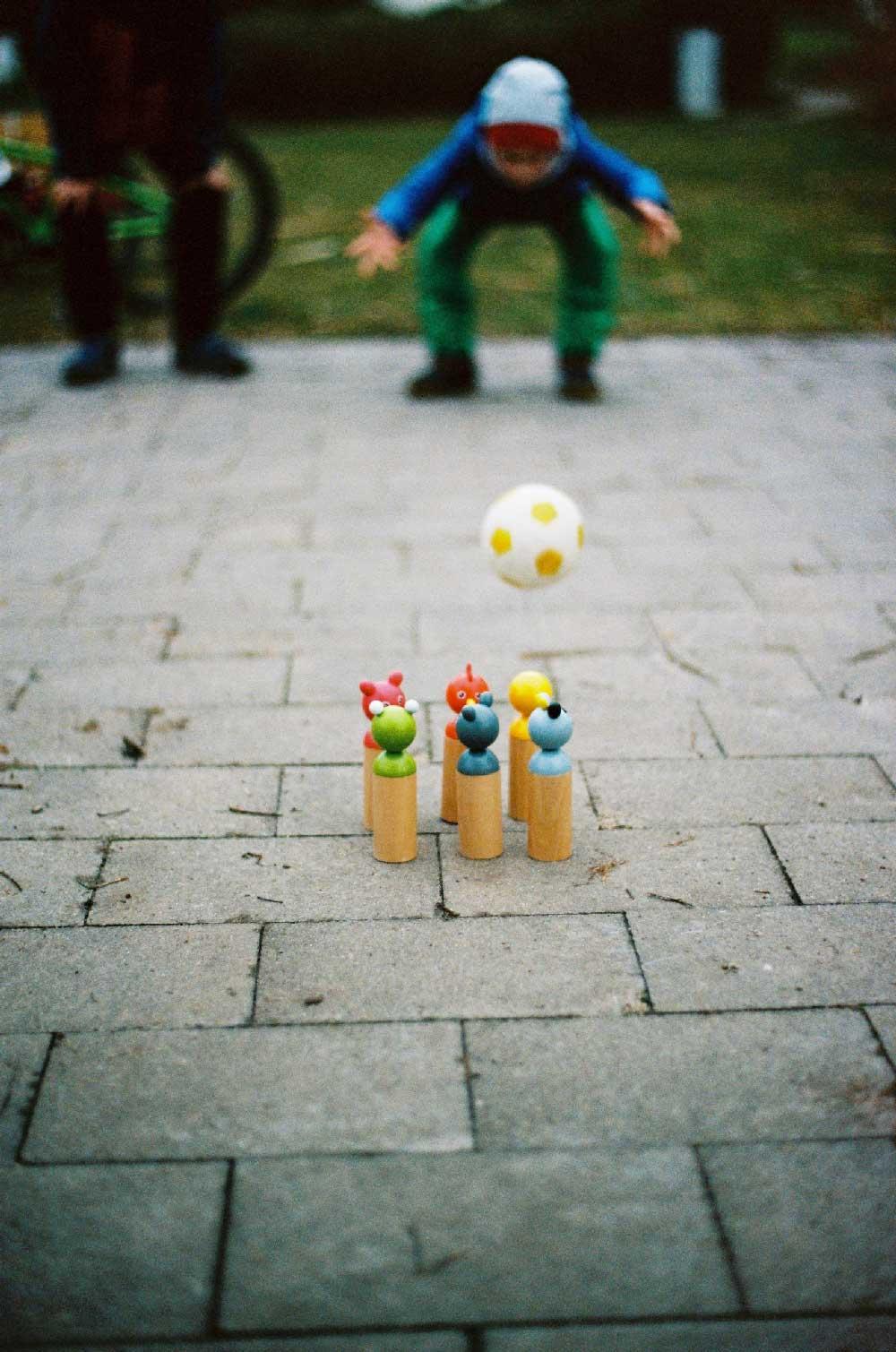 bowling pour enfant jeu anniversaire
