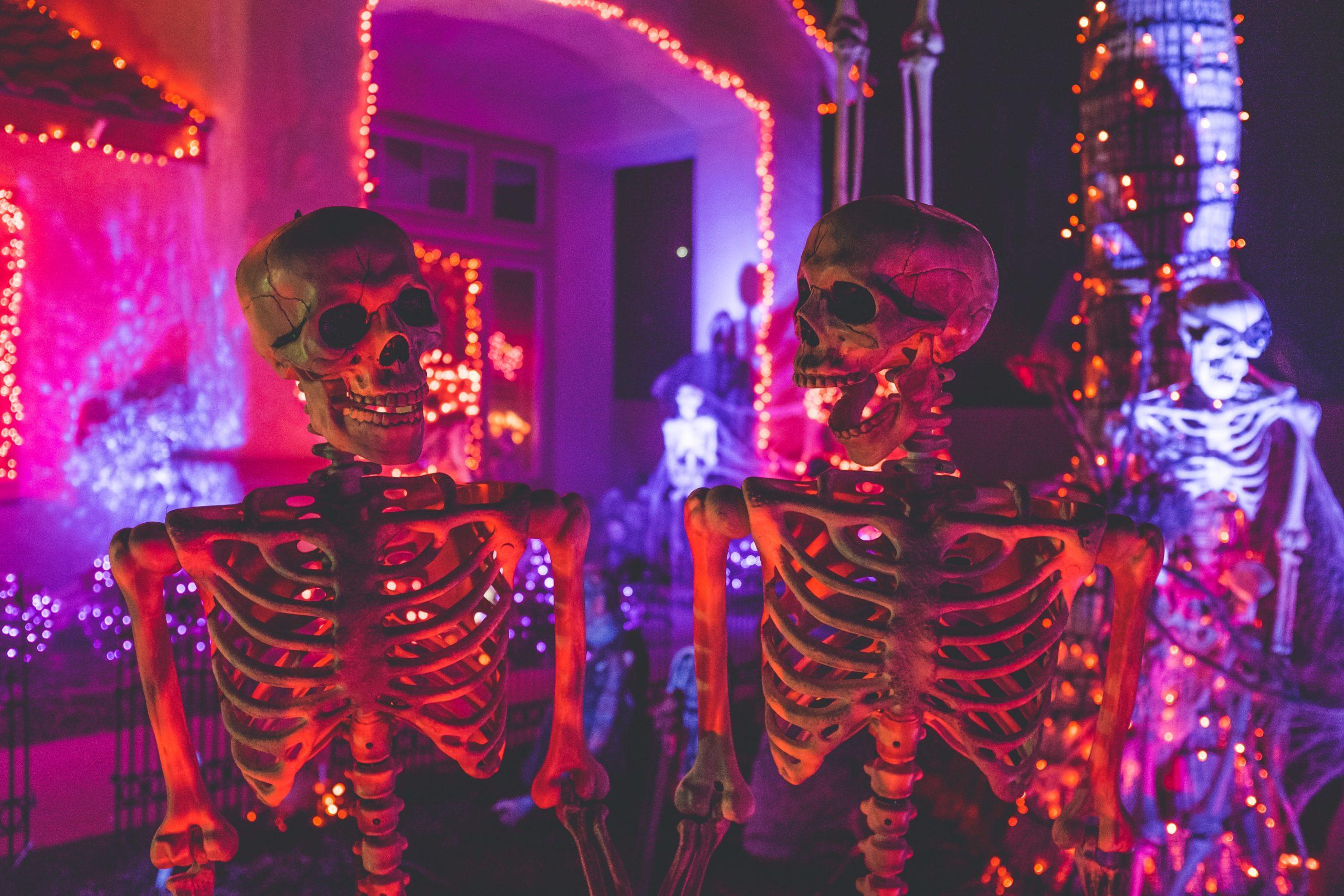 décorer le jardin halloween
