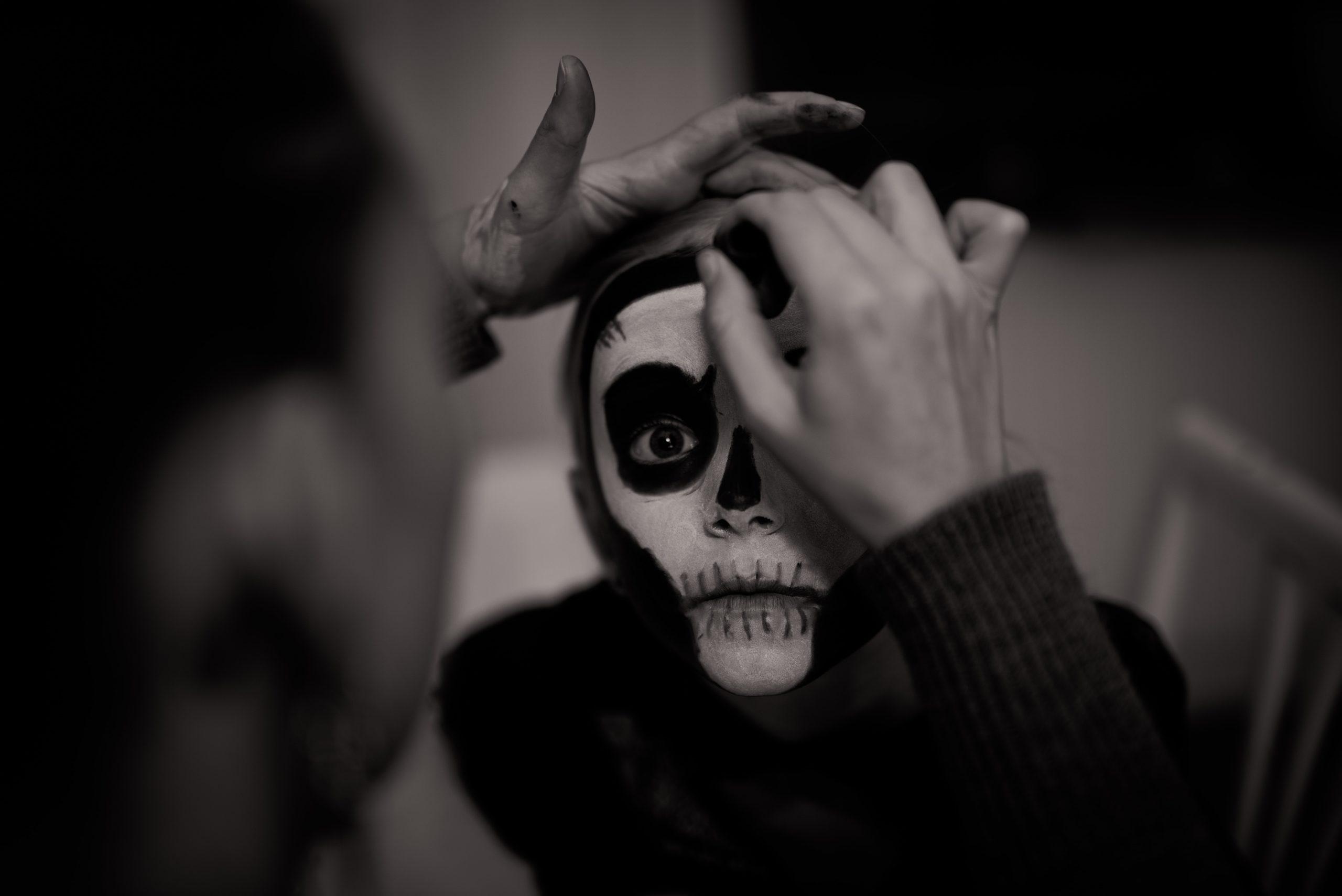 deguisement maquillage halloween enfant
