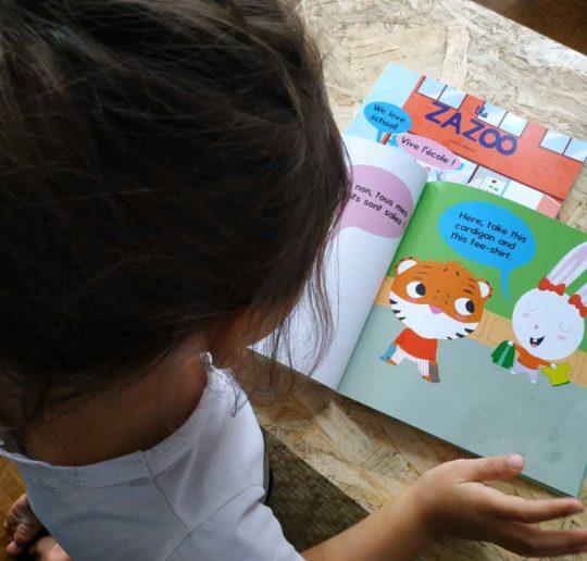 livres bilingues anglais français zazoo